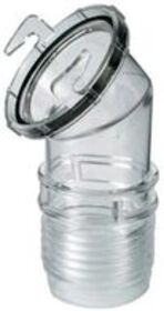 Clear 45 E-Z On/Off Sewer Adapter