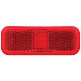 Rectangular LED Clearance/Marker Light; 2 Diode; W
