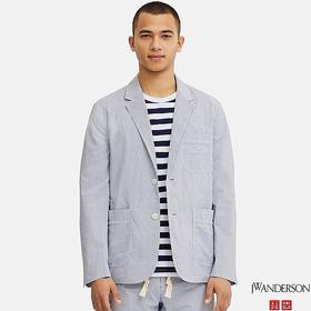 MEN TAILORED JACKET (SEERSUCKER) (JW Anderson)