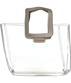 Rampage Clear Midi Tote with Interior Pouch