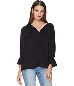 Lucky Brand Parachute Peasant Top