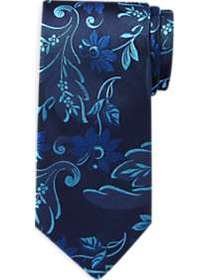J. S. Blank & Co. Navy & Blue Floral Extra Long Na