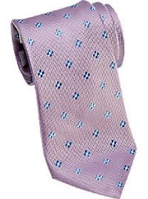 Joseph Abboud Lilac Floral Extra Long Narrow Tie