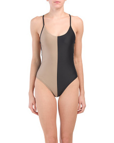 PILY Q Made In Colombia Farrah One-piece Swimsuit