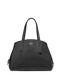COACH Charlie Textured Carryall BLACK