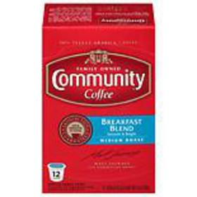 Community Coffee Breakfast Blend Coffee Pods