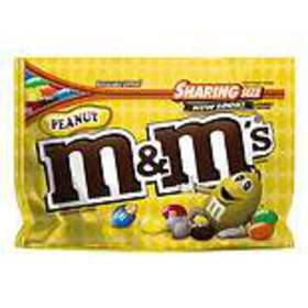 M&M's Peanut Chocolate Candy Bag Peanut