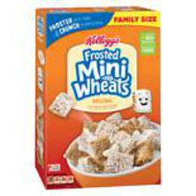 Frosted Mini Wheats Bite Size Cereal Original