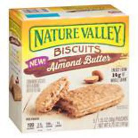 Nature Valley Biscuits Cinnamon & Almond Butter