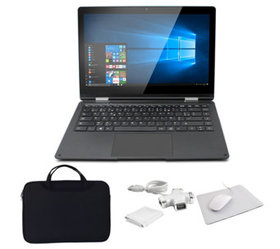 """Thomson Neo 360X 13.3"""" Convertible Laptop withSlee"""