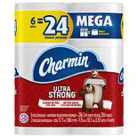Charmin Ultra Strong Toilet Paper Mega Rolls