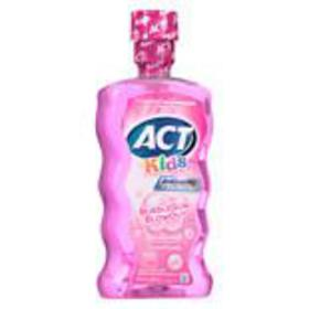 ACT Kids Anticavity Fluoride Rinse Bubblegum Blowo
