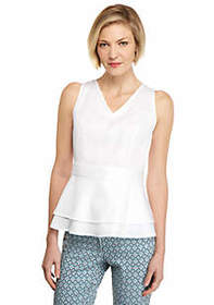 The Limited Cotton Sleeveless Top
