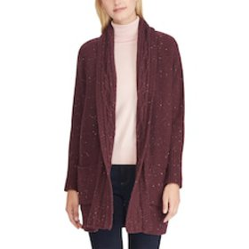 Women's Chaps Cotton-Blend Shawl Cardigan