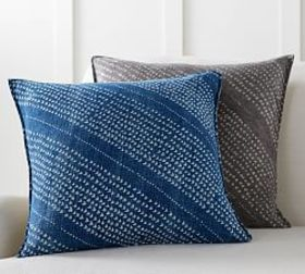 Pottery Barn Stanton Hand Dyed PIllow Cover