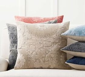 Pottery Barn Elmira Embroidered Pillow Cover