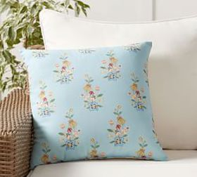 Pottery Barn Outdoor Ila Reversible Print Pillow
