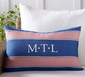Pottery Barn Outdoor Personalized Alessandra Strip