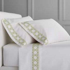 Chambers® Cane Embroidery Sheet Set