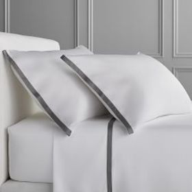 Chambers® Italian Border 300TC Sateen Sheet Set