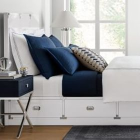 Campaign Storage Bed