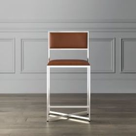 Dessau Leather Counter Stool