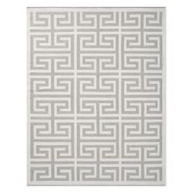 Perennials® Greek Key Indoor/Outdoor Rug, Grey