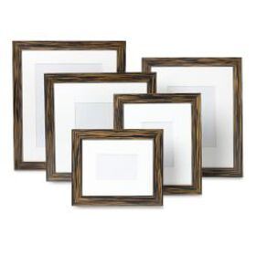 Exotic Ebony Wood Gallery Picture Frame