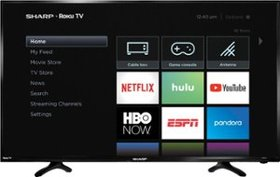 "Sharp - 40"" Class - LED - 1080p - Smart - HDTV Rok"