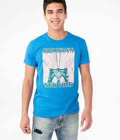 Aeropostale Brooklyn New York Graphic Tee