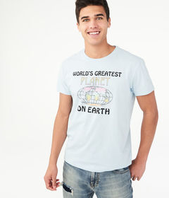 Aeropostale World's Greatest Planet Graphic Te