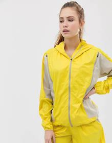 ASOS 4505 running jacket with zip detail stone and