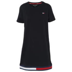 Tommy Hilfiger Fleece Short Sleeve Sneaker Dress