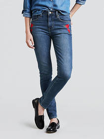Levi's 721 High Rise Skinny Rose Jeans