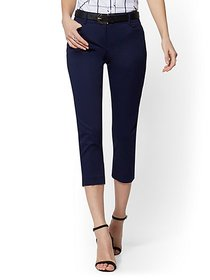 Crop Slim-Leg Pant - Signature - 7th Avenue - New