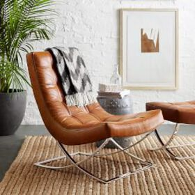 James Leather Chair