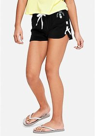 Justice Lace Up French Terry Dolphin Shorts