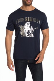 True Religion Silver Buddha Shirt