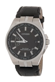 Citizen Men's World Time A-T Perpetual Embossed Le