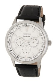 Citizen Men's Corso Leather Watch