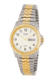 Citizen Men's Two-Tone Stainless Steel Expansion B