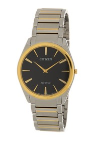 Citizen Men's Stiletto Black Guilloche Watch