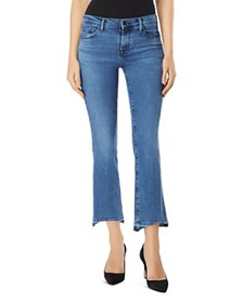 J Brand - Selena Mid Rise Crop Bootcut Jeans in Ea