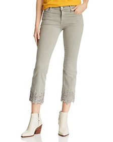 J Brand - Selena Crop Bootcut Jeans in Faded Gibso