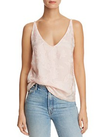 J Brand - Lucy Embroidered Camisole Top