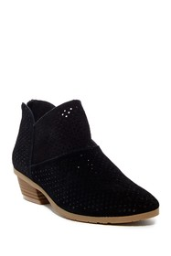 Kenneth Cole Reaction Side Walk Suede Ankle Bootie