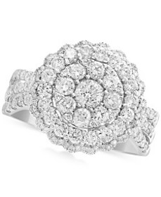 Rock Candy by EFFY® Diamond Halo Cluster Ring (1-1
