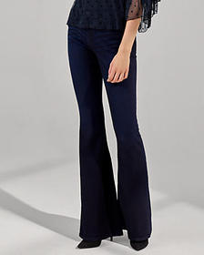 Express mid rise supersoft bell flare jeans