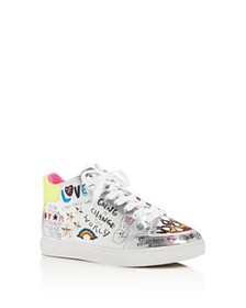 STEVE MADDEN - Girls' JPowers Graphic Mid-Top Snea