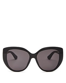 Dior - Women's Dior Soft 2 Oversized Round Sunglas